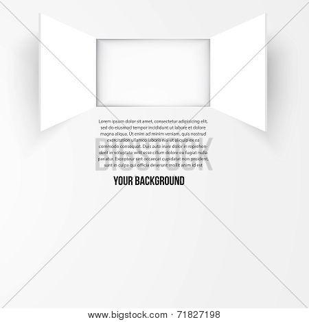 Vector background window. Texture design