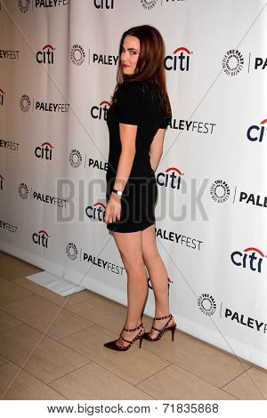 LOS ANGELES - SEP 8:  Rebecca Rittenhouse at the Paley Center For Media's PaleyFest 2014 Fall TV Previews - FOX at Paley Center For Media on September 8, 2014 in Beverly Hills, CA