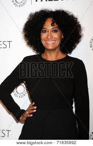 LOS ANGELES - SEP 11:  Tracee Ellis Ross at the Paley Center For Media's PaleyFest 2014 Fall TV Previews - ABC at Paley Center For Media on September 11, 2014 in Beverly Hills, CA