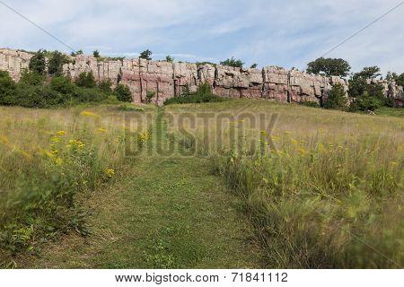 Trail To Cliffs