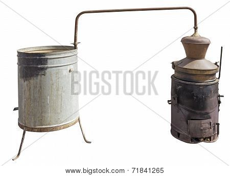Copper Boiler Used To Brandy