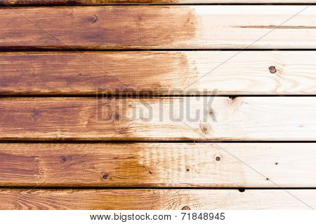 painting wooden table. wooden background