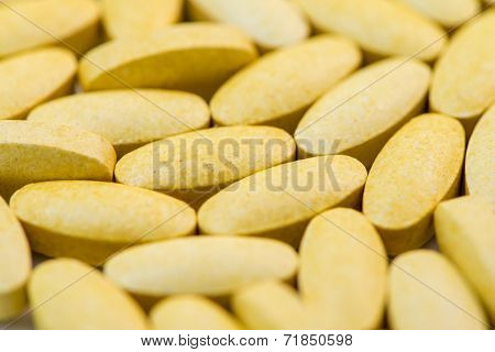 Vitamin C Tablets Macro