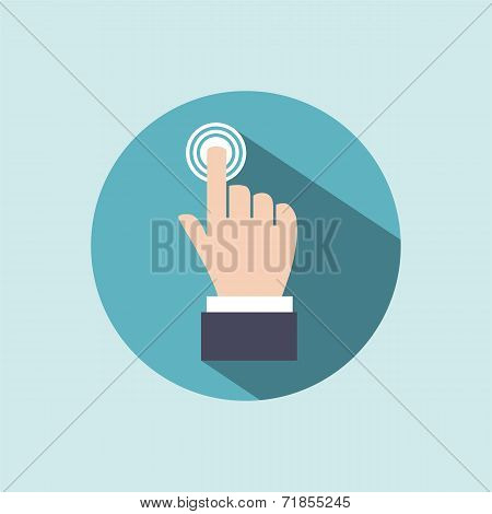 Hand icon?