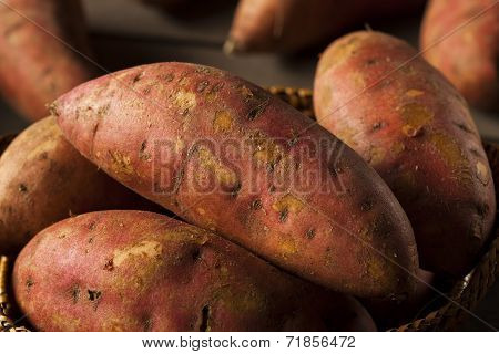 Organic Raw Sweet Potatoes