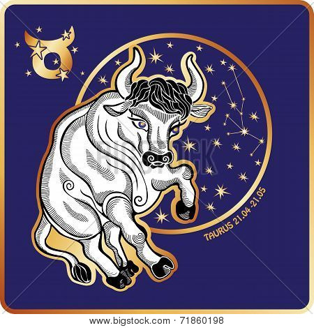 Horoscope.Taurus zodiac sign