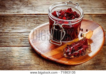Pickled Beets In The Jar