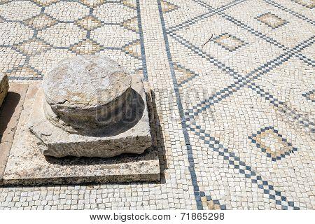 Roman Ruins Of Sufetula Near Sbeitla
