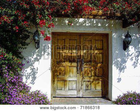Spanish Style Entrance way