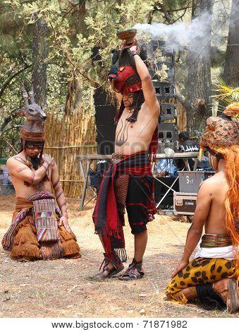 Mayan Festival, Atitlan, Guatemala