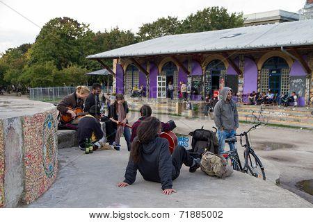 Gorlitzer Park, Berlin, Germany