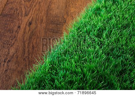 Artificial Turf Close-up