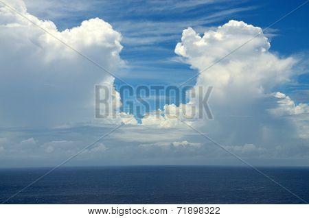 Cloud Doorway Over Ocean