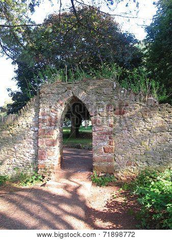 Forest Pathway Gateway Arch