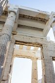 Постер, плакат: Temple Of Athena Nike Close Up