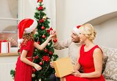 picture of christmas hat  - family - JPG