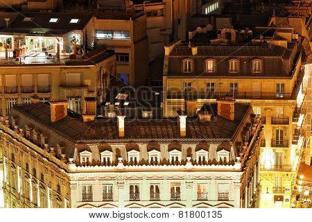 View Of Paris From The Arc De Triomphe. Paris. France.
