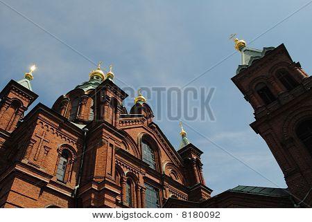 Helsinki, Uspenski Cathedral Russian Orthodox, Finland