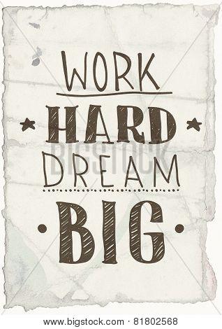 Motivational Grange Poster
