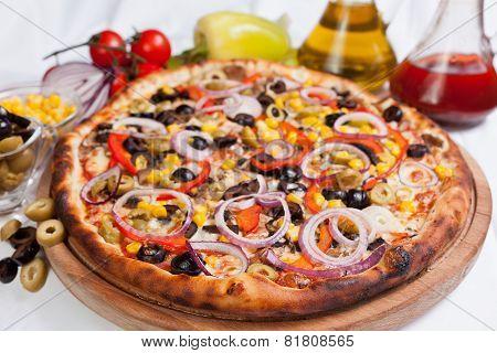 Olive Focaccia Pizza