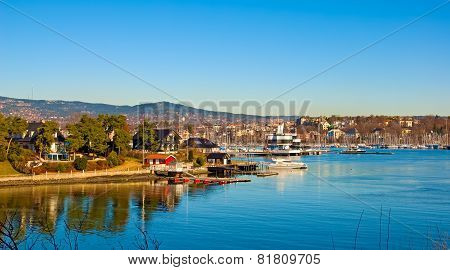 Peninsula Bygdoy.Oslo.Norway