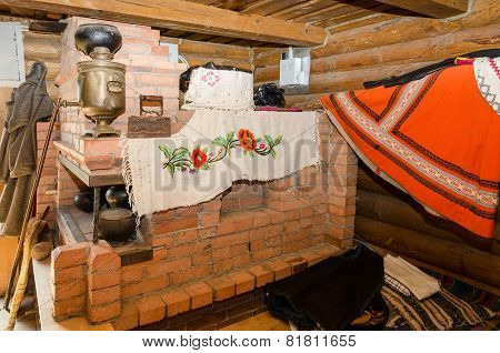 Belarus, Dudutki, The Museum Of Folk Crafts And Technologies. In The House Of Miller