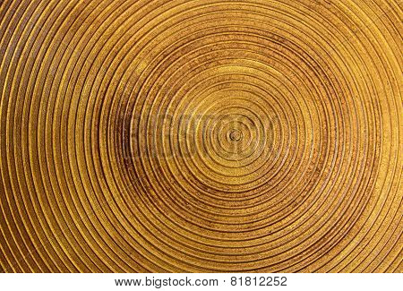 Circle Gold Steel Texture For Background