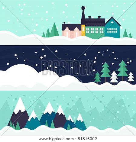 Winter Card Template