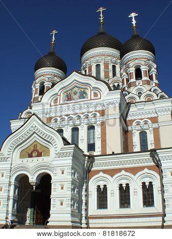 Alexander Nevsky Cathedral in Tallinn , Estland