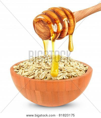 cereal with honey