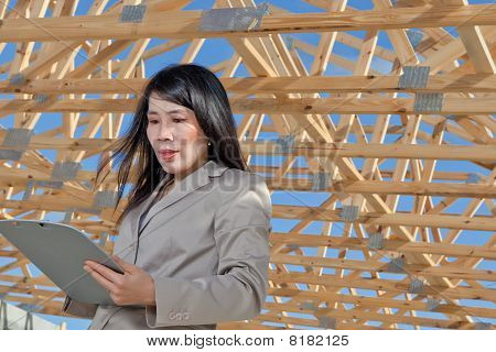 Asian Woman Contractor
