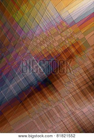 Mosaic backgroundwithharmoniously of alternating shades