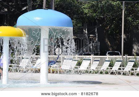 Parque infantil piscina