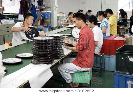 Chinese Clock Factory