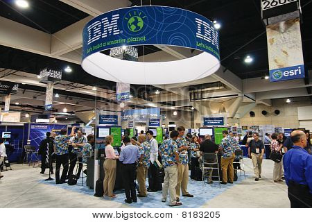 Esri User Conference - Ibm Booth