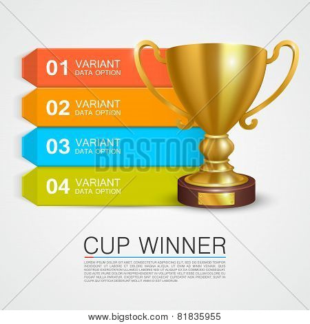Graphic information Winner cup