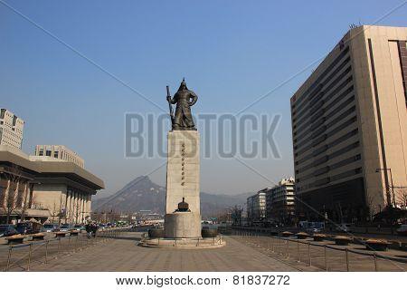 Statue Of Yi Sun-shin