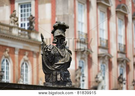 Statue Near New Palace Sanssouci