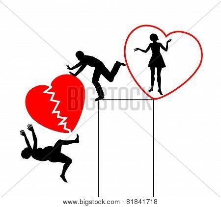 Divorce With Broken Heart