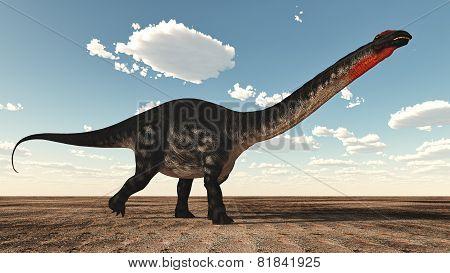 Apatosaurus dinosaur - 3D render