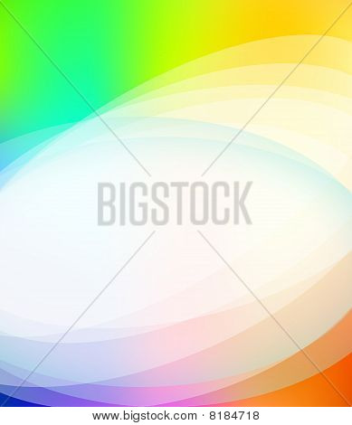 Business Brochure Background With Rainbow Colours And Delicate Gradients
