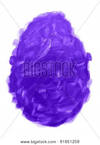 Purple Paint Strokes