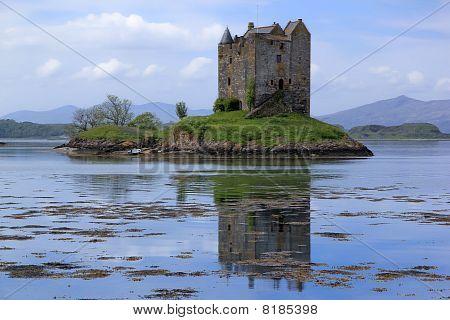 Castel Stalker Loch Linnhe Escócia