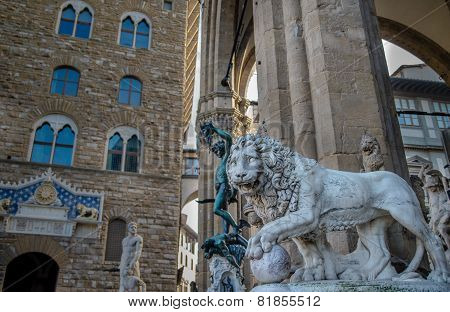 Beautiful Statues Of Florence