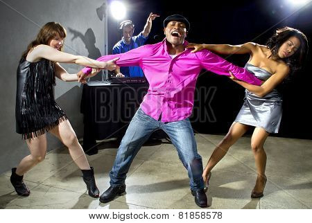 Single Women Fighting over a Man