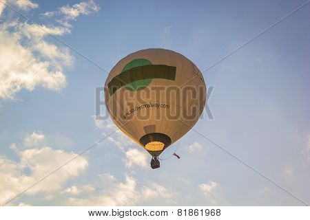 Balloon Floating To Sky