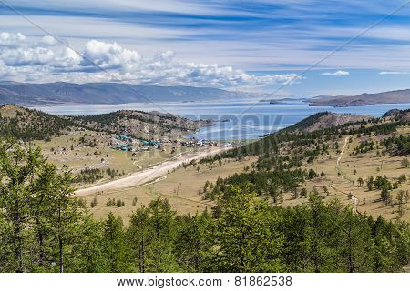 Coast of Lake Baikal, Russia