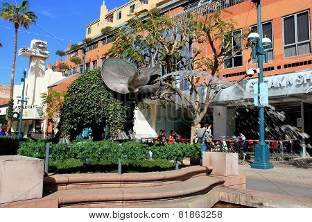 The Third Street Promenade Of Santa Monica