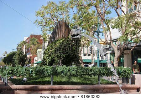 The Third Street Promenade Of Santa Monica