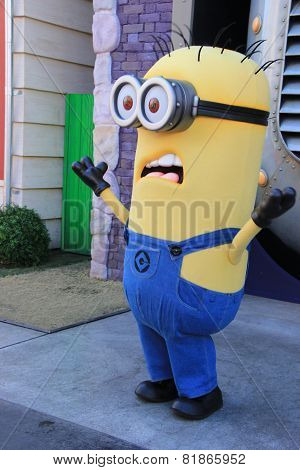 Minions At Universal Studios Hollywood